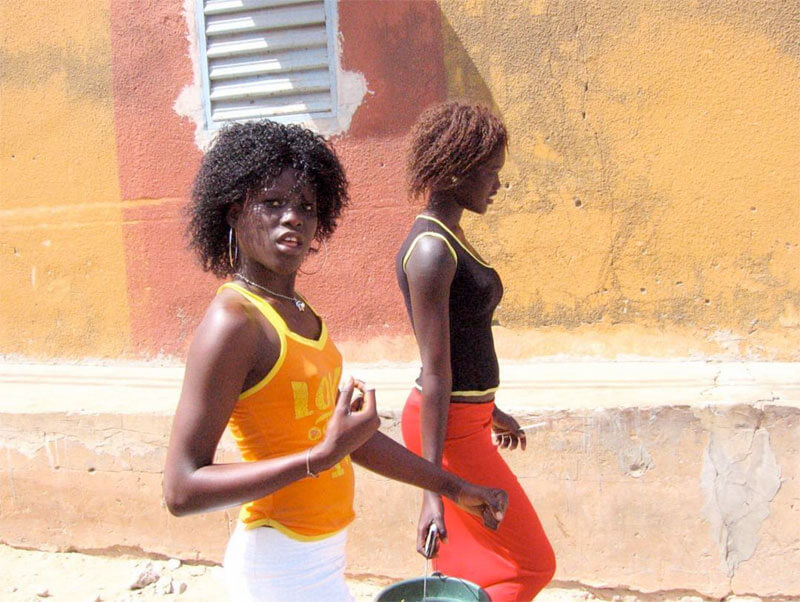 Girls from Senegal