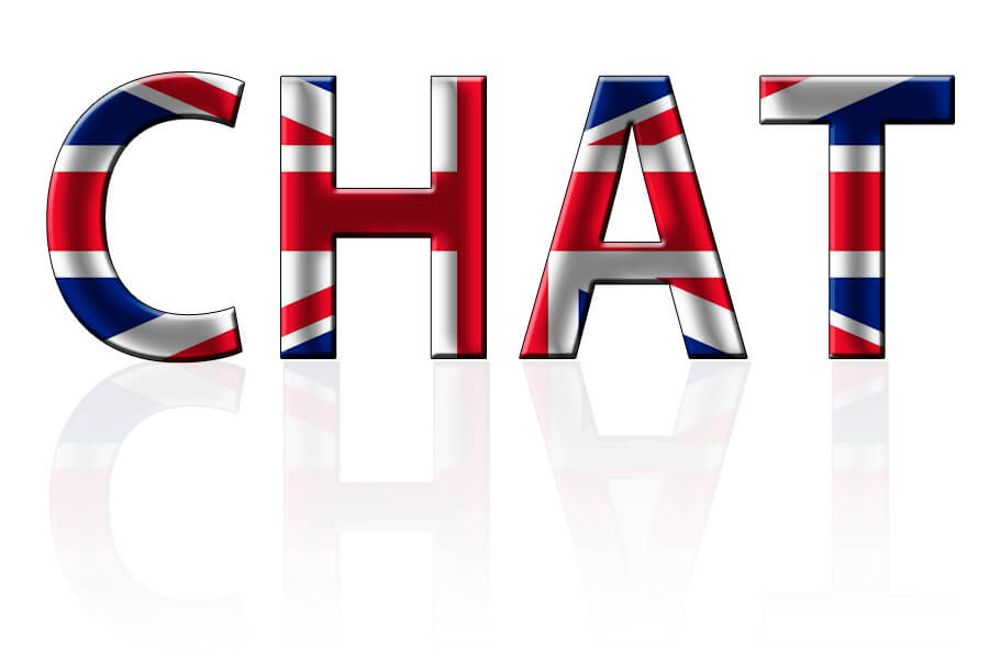 English online chat
